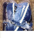 Мужской махровый турецкий халат , фото 2