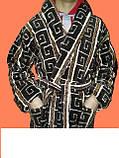 Мужской махровый турецкий халат , фото 3