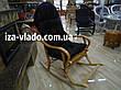 """Кресло-качалка плетеная из лозы """"Разборная 1+"""", фото 4"""