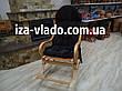 """Кресло-качалка плетеная из лозы """"Разборная 1+"""", фото 5"""