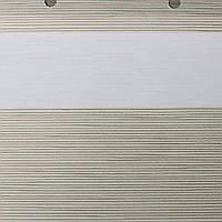 Рулонные шторы День Ночь Ткань Мираж ВН 103 Cream
