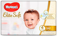 Подгузники Huggies Elite Soft 4, 66шт (5029053546339)
