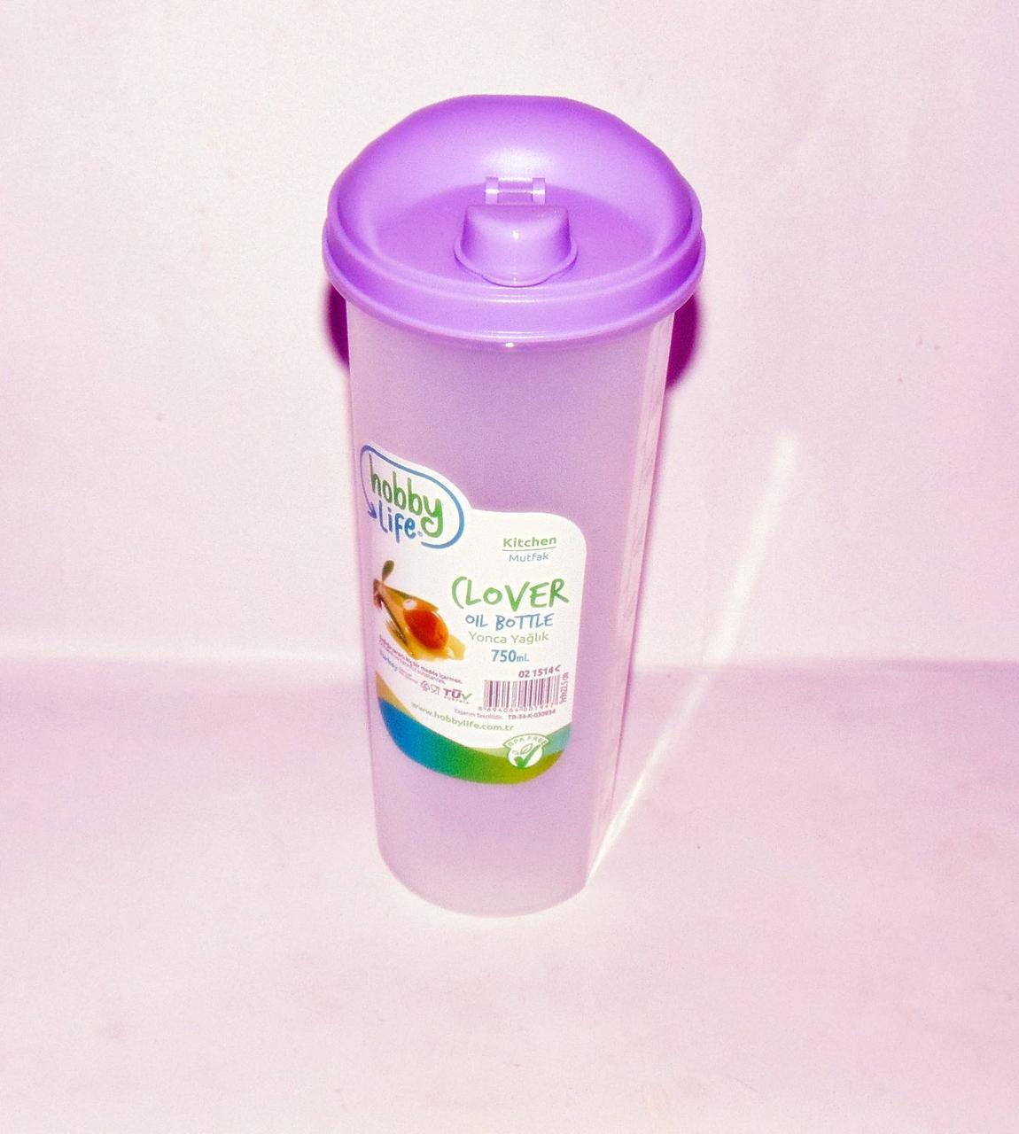 Емкость для растительного масла пластиковая 750 мл