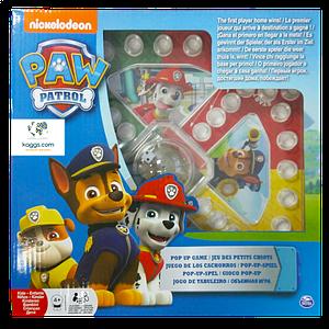 Настольная игра с кнопкой «Щенячий патруль»  SM98282/6028796 Spin Master