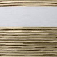 Рулонные шторы День Ночь Ткань Мираж ВН 106 Beige