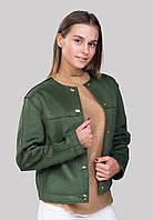 Куртка демисезонная с открытыми швами