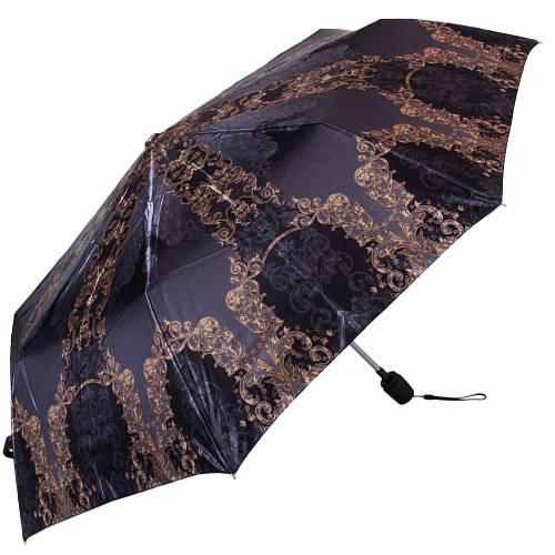 Качественный женский зонт полуавтомат обратного сложения ТРИ СЛОНА RE-E-100N-AC-12, цвет сиреневый. Антиветер!