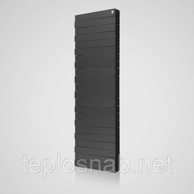 Радиатор биметаллический Royal Thermo Pianoforte Tower Noir Sable 18 секций