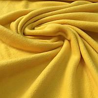 Флис желтый,ширина 150 см, фото 1