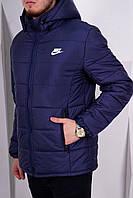 Куртка зимняя мужская Nike синяя