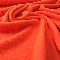 Флис оранжевый,ширина 150 см, фото 1