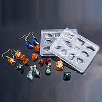 Форма для эпоксидной смолы, Полимерной глины или других материалов, Молд, Силикон, 75 мм x 60 мм, фото 1