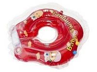 Круг на шею Baby Swimmer Сlassic красный