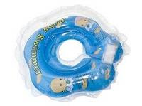 Круг на шею Baby Swimmer Сlassic голубой
