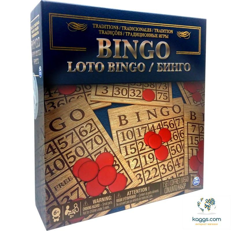Настольная игра «Бинго» SM98375/6038108 Spin Master