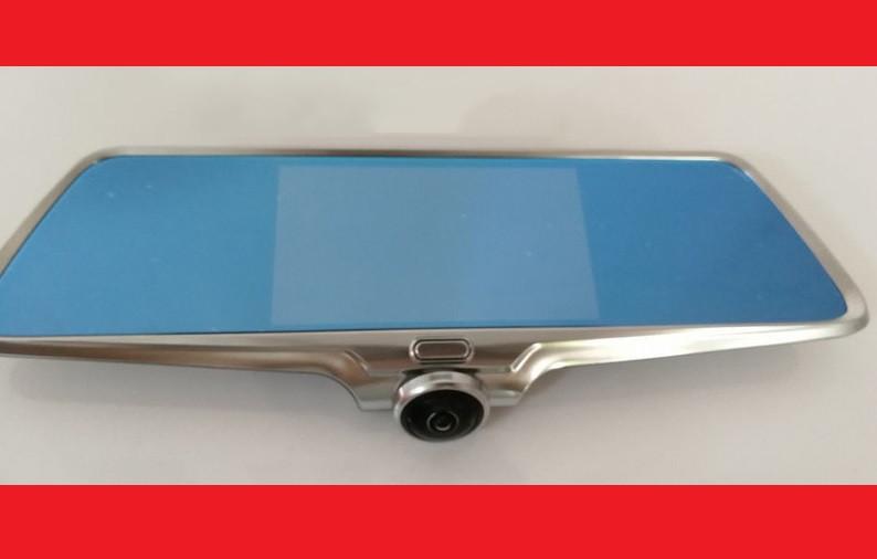 DVR K15 Авторегистратор зеркало 360 грудусов + камера заднего вида, сенсорный экран