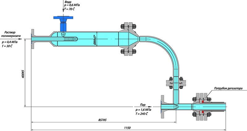 Узлы трубопроводов