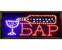 """Светодиодное LED  табло """"Бар"""", вывеска"""