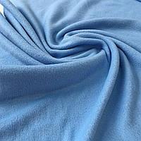 Флис голубой, ширина 150 см, фото 1