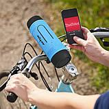 Колонка Zealot S1 портативная Bluetooth повербанк, фонарик (серая), фото 3