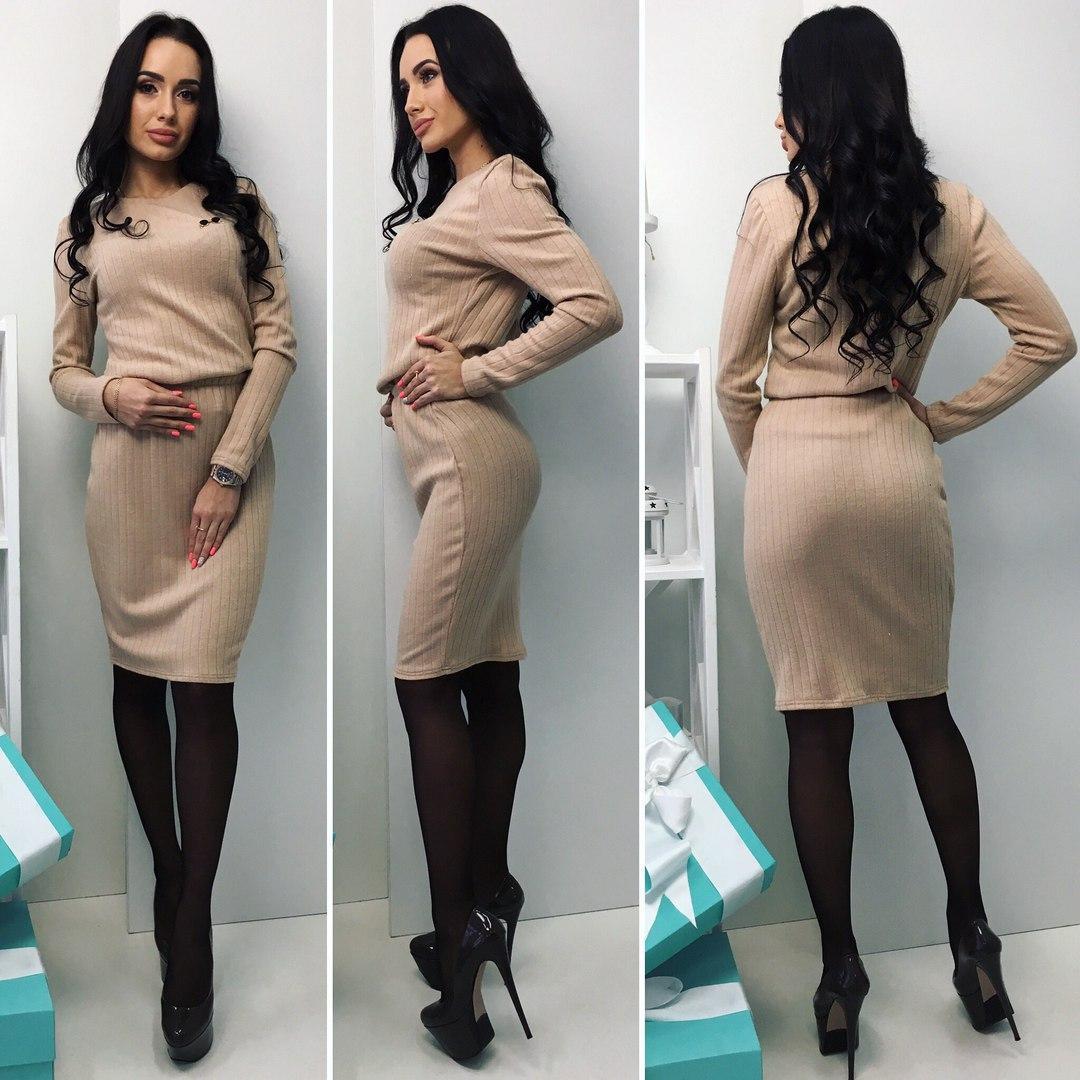 Женский костюм юбка и кофточка
