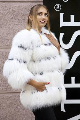 ПОЛЯРНАЯ ЛИСА шубы и жилеты Polar fox fur coats jackets vests and gilets