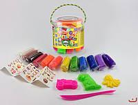 Тесто для лепки Master Do в тубе, 12 цветов, Danko Toys