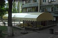 Навіс на літній майданчик кафе