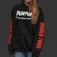 Purpose World Tour Женская худи толстовка