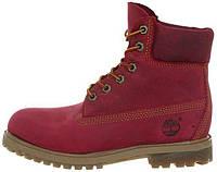 Женские ботинки Timberland Red, на меху
