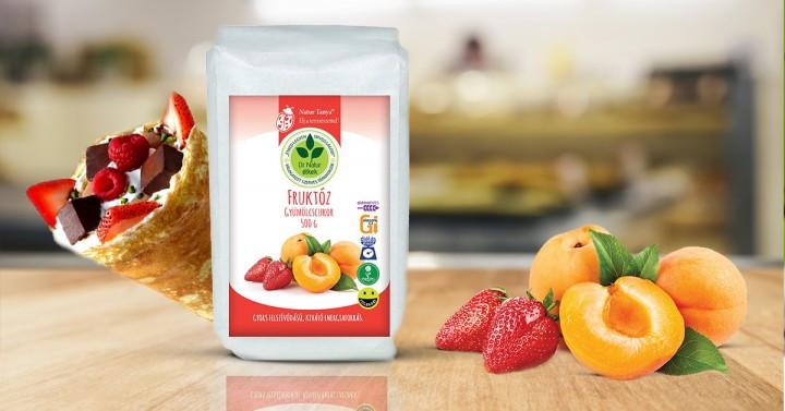 Диабетический фруктовый сахар - фруктоза Венгрия - 500г.