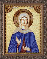 Набор для вышивки бисером именной иконы  «Святая Нонна»