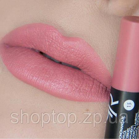 Помада-карандаш для губ Golden Rose Matte Lipstick Crayon № 13