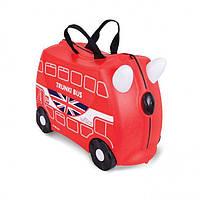Чемодан детский на колесах Автобус Trunki TRU0186 GL
