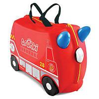 Чемодан детский на колесах Frank Fireman Trunki TRU0254 GL