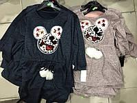 Нарядное платье туника  для девочки 2-12