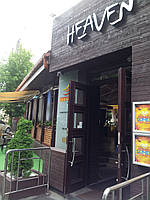 Прозрачны ПВХ шторы на ресторан, фото 1