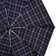 Стильный мужской автоматический зонт, антиветер ТРИ СЛОНА RE-E-907L-8, цвет серый., фото 2