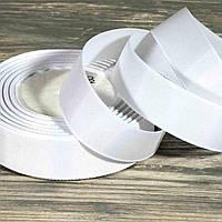 Репсовая лента №001 ширина 2.5 см, 25 ярд (упаковка 5 шт)