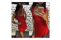 """Мини платье """"Фаина"""", разные цвета и размеры., фото 1"""