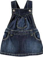 Детский джинсовый сарафанчик с рюшами OshKosh B'gosh для девочки