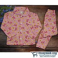 Детские байковые пижамы Размеры: 4-5-6 лет (5721-3)