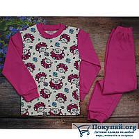 Пижама для девочки Размеры: 5-6-7-8 лет (5722-1)