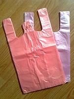 Пакет майка 22*36 см/ 9 мкм супер, прочные фасовочные пакеты-майка, полиэтиленовые пакеты упаковочные купить