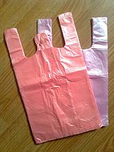 Пакет майка 22*36 см/ 10 мкм супер, міцні фасувальні пакети-майка, поліетиленові пакети пакувальні купити