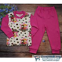 Пижама для маленькой девочки Размеры: 1-2-3-4 года (5723-3)