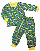 Детская пижама с начесом для мальчика и девочки
