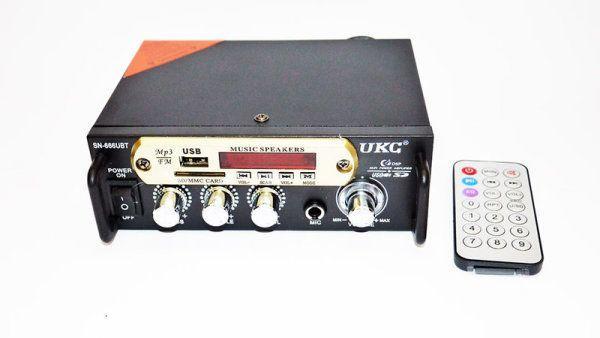 Усилитель Звука UKC SN-666U FM USB 2x300 Вт
