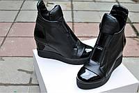 Натуральные кожаные ботинки 37,38,39 р.