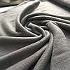 Флис темно-серый, графитовый, ширина 150 см
